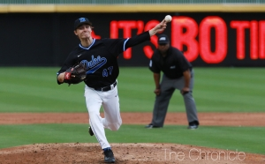 Southpaw Mitch Stallings outdueled Louisville star Brendan McKay Friday in the Blue Devils' best win of the season.