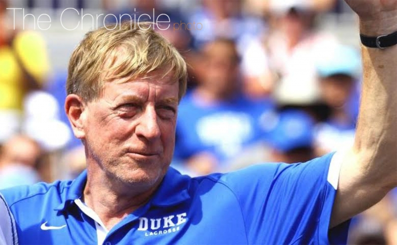 Men's lacrosse head coach John Danowski is in favor of the new NCAA rule that limits early recruiting before a player's junior year of high school.