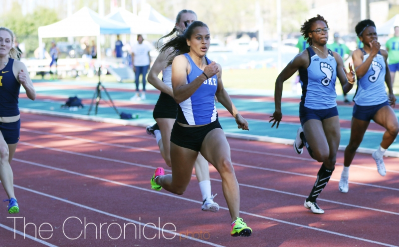 Sydnei Murphy took home two third-place finishes in the long jump and as a part of the sprint medley relay team.