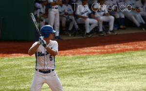 Junior Max Miller hit his first career home run in Sunday's series finale against Georgia Tech.