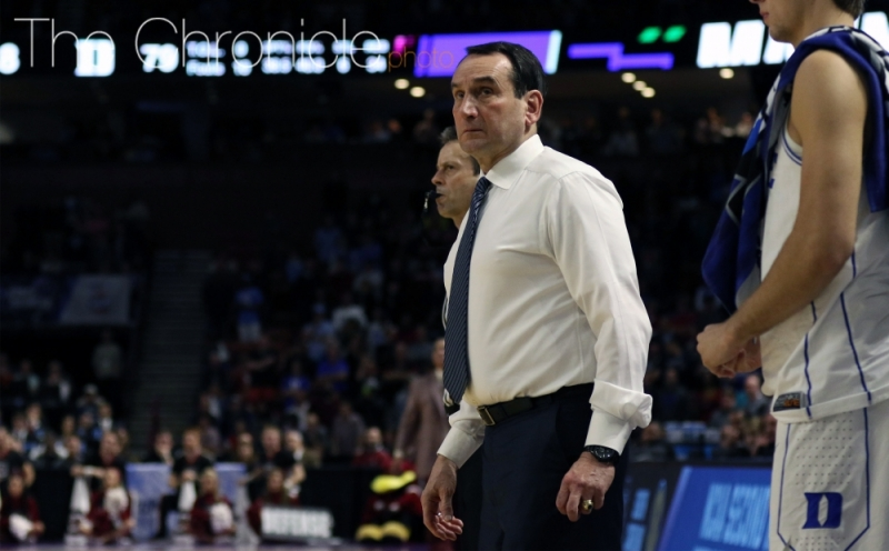 Head coach Mike Krzyzewski will take a young team to the Dominican Republic in August.
