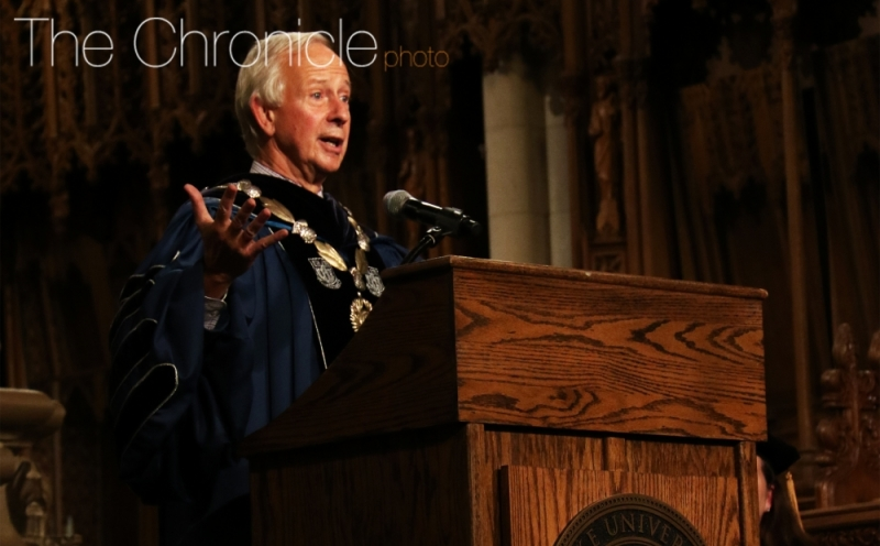 President Richard Brodhead will step down June 30, making way for his successor Vincent Price, provost of the University of Pennsylvania.