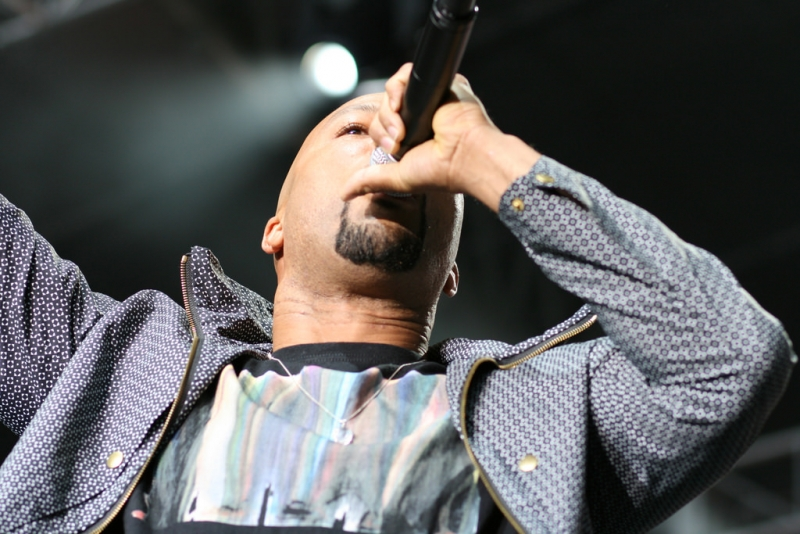 Common (above) was among the headliners of the Art of Cool Festival 2017.