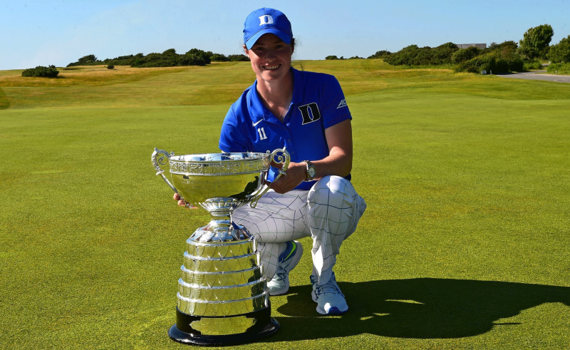 Rising senior Leona Maguire added to her accolades, becoming the second Blue Devil in the last three years to win the Ladies' British Open Amateur Championship.