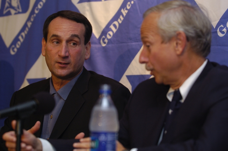 This week in Duke history: Krzyzewski courted by the Lakers