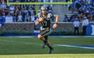 Daniel Jones is one of just two returning starting quarterbacks in the ACC's Coastal Division.