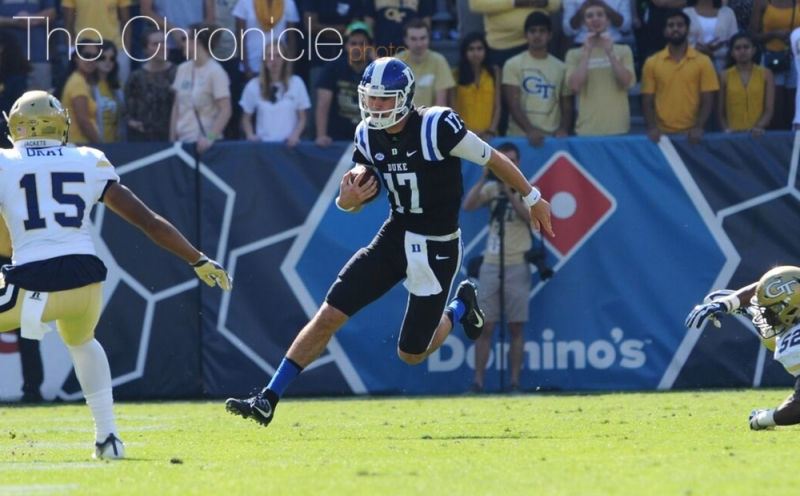 Redshirt sophomore quarterback Daniel Jones received one preseason ACC Player of the Year vote.