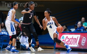 Redshirt senior point guard Lexie Brown will lead Duke into a rematch with defending national champion South Carolina.