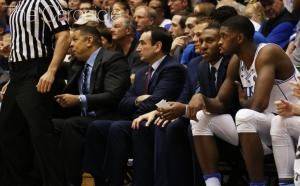 Coach K's knee surgery marks his second major procedure in less than a year, following back surgery this past winter.