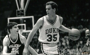 Danny Ferry's No. 35 will be the first retired number ever worn by another Blue Devil after it rose to the rafters.
