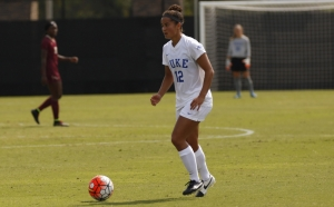 Kayla McCoy will take the field Friday for the first time in nearly a year after missing most of last season with a torn Achilles' tendon.