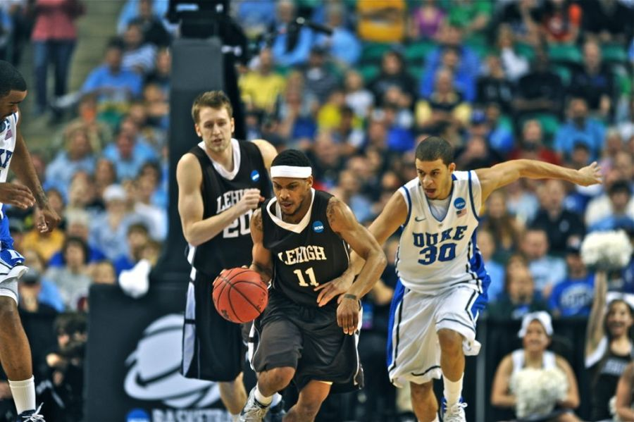 Seth Curry and the Blue Devils could not stop the Lehigh offense, led by C.J. McCollum, who had 30 points for the Mountain Hawks.
