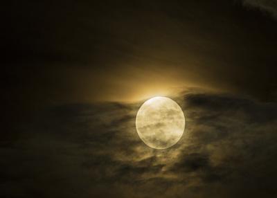 Oklahoma City Full Moon