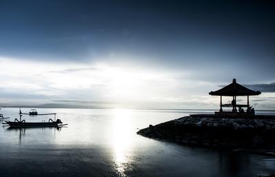 Sanur Bali - Blue Hour