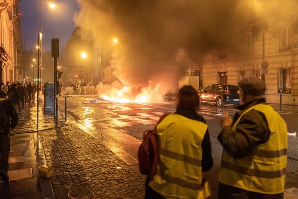 Gilet Jeaune protests, Paris