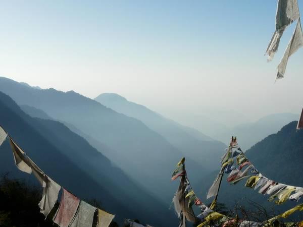 Am Fuße des Kangchendzönga, Sikkim, Indien