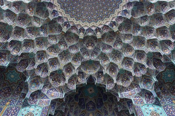 Typischer Eingang zu einer Moschee im Iran