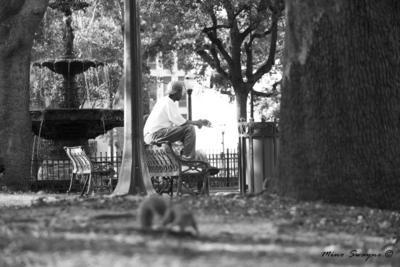 Un relajo en el parque