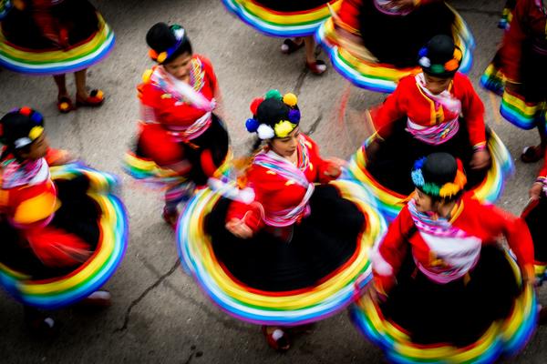 Trompos de colores