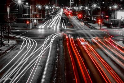 Traffic Long Exposures