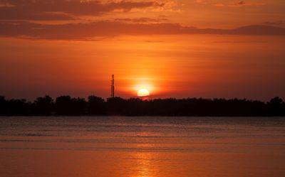 Coucher de soleil sur Gili Air 2
