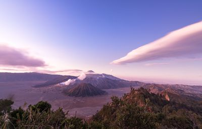 Sunrise on the Bromo