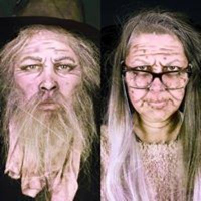 Mr & Mrs Old makeup 2018
