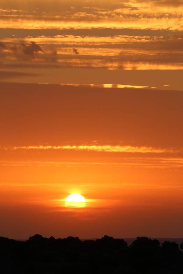 Sonnenuntergang über Portugal