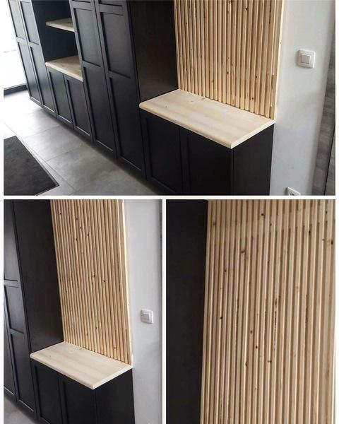 Création meuble d'entrée