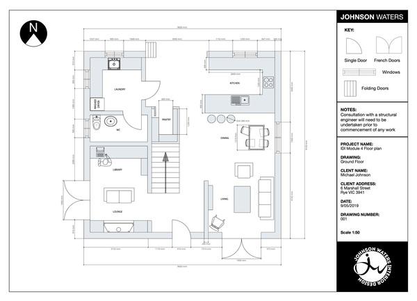 Ground Floor - Redesign
