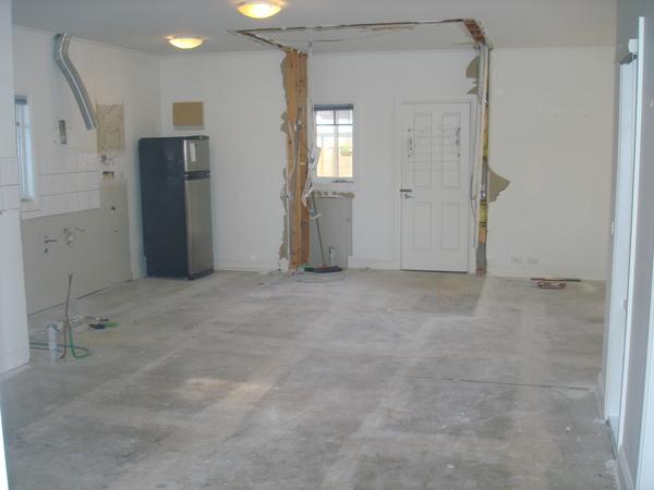 Kitchen Upgrade - Beaumaris 2015 Progress 1