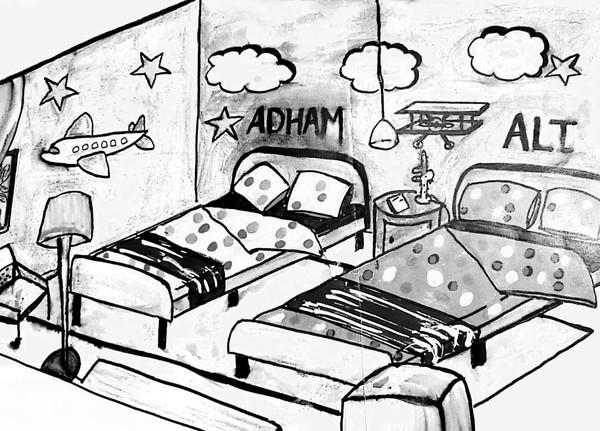 Décoration chambre garçons
