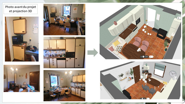 Projet de rénovation de cuisine