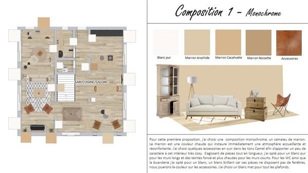Composition MONOCHROME : Projet 1