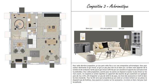 Composition ACHROMATIQUE : Projet