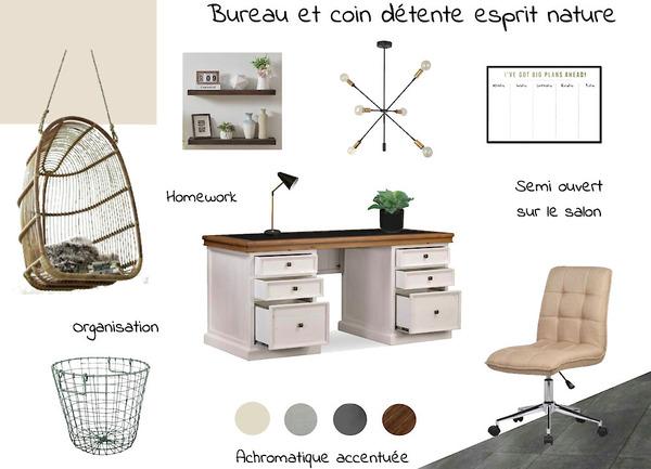 Projet Client : Moodboard Bureau