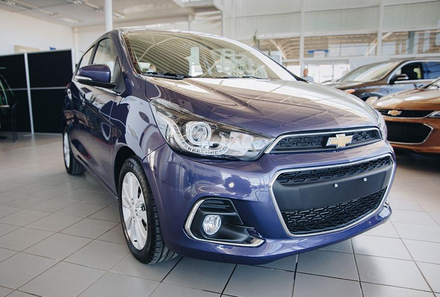 Chevrolet Spark NG LTZ