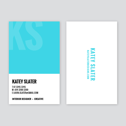 Creative Colour Swatch Business Card