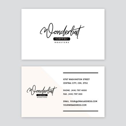 Coffee Roasters Business Card