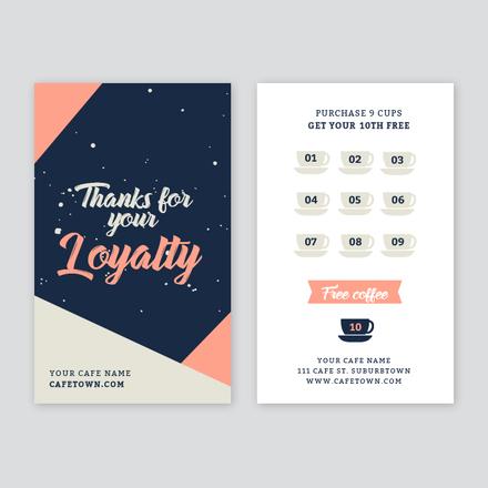 Coffee Loyalty Card