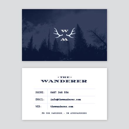 Wanderer Business Card
