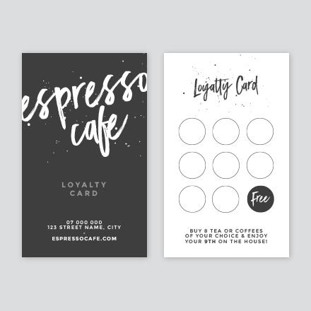 loyalty card template