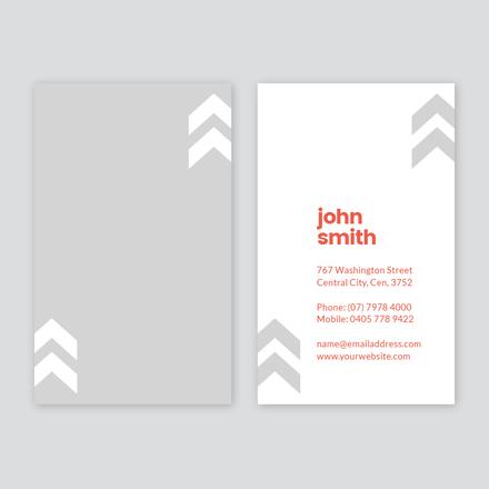 Grey Arrow Business Card