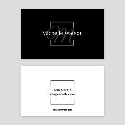Mono Business Card