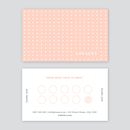 Spotted Loyalty Card