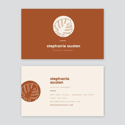 Simple Monoline Logo Element