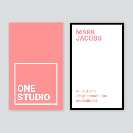 One Studio Business Card