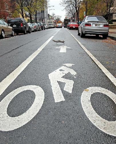 D.C. adds bike lanes to downtown area