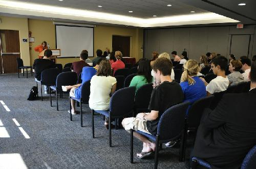 Students voice concerns at 'wonk' town hall