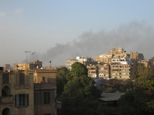 Stories from Egypt: A student account of unrest in Cairo